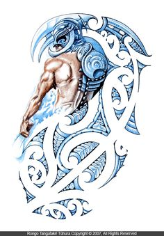 Tangaroa (God of the Sea) -