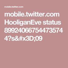 mobile.twitter.com HooliganEve status 899240667544735744?s=09
