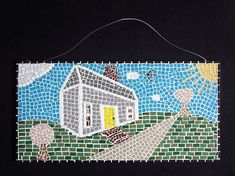 Hey, I found this really awesome Etsy listing at https://www.etsy.com/listing/499669121/mosaic-wall-art-mosaic-home-decor-house