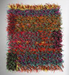 Katri Haahti ::: Etude II ::: wool + linen ::: 30 cm × 38 cm ::: Finland ::: 2007