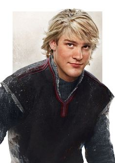 kristoff. Unreal drawings, making Disney characters life like!