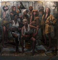 "Contemporary painters, Tim Okamura, Jerome Lagarrigue, Taha Clayton and Joseph Adolphe will exhibit their latest work in a boxing-themed collection titled ""Round Zero"". Curated by Dexter Wimberly, the exhibit will be on display May 13–17th* at The Art Director's Club in Manhattan."