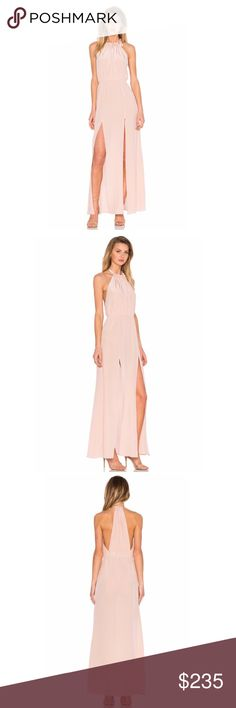 Stone Cold Fox Onyx Gown Stone Cold Fox Onyx Gown Dusty Rose brand new with tags. Material : 100% Silk Stone Cold Fox Dresses Maxi