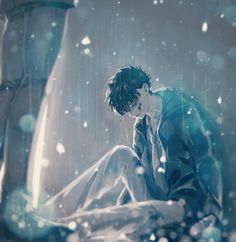- - Please visit our website to support us! Kaito, Kaito Kuroba, Anime Drawings Boy, Illustration, Anime Scenery, Anime Crying, Anime Child, Boy Art, Anime Drawings