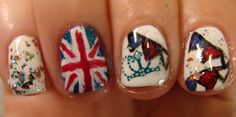 My Wet Nails: PFC Summer Challenge: Jubilee Street Party
