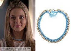 Pretty Little Liars: Season 5 Episode 13 Alison's Braided Fringe Necklace