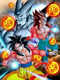 Dragon Ball Dragon Ball Gt Shin Shenron Omega Shenron Dragon