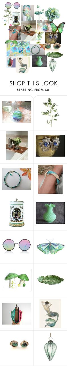 Sweet Dreams by anna-recycle on Polyvore featuring Infini, Sunday Somewhere, Fenton, Bordallo Pinheiro, Pier 1 Imports, Parlane, Bodas, modern, rustic and vintage