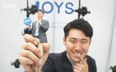 3D figurines by IOYS Korea.