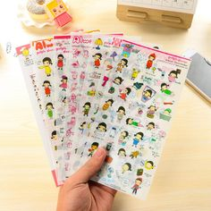 6 Pcs/Set Free Shipping Pony Brown Transparent Sticker My Little Friend Kawaii Stickers Memo Pad Material Escolar
