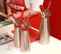 Cómo utilizar el sifón para espumas