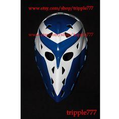 RARE Gift vintage style fiberglass NHL ice hockey goalie mask helmet - Jiri Cira Mask HO12