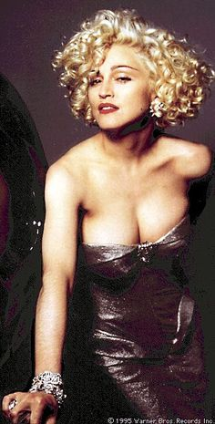 "Madonna as Breathless Mahoney from Dick Tracy.  ""I know how you feel. You don't know if you want to hit me or kiss me. I get a lot of that."