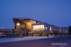 My fav building when touring at UW-Stevens Point!
