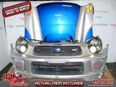 Used Subaru WRX STi Version 7 Front End Conversion, v8 hood, zero sports lip, etc.  Find this item only on our website: https://www.jdmracingmotors.com/engine_details/2098  Tags: #jdm #jdmracingmotors #subaru #nosecut #v7nosecut #v7frontend #v7halfcut #v8hood #zerosports #specc #v7hid #bugeye #stifogcovers #v7fenders