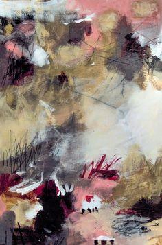 Danielle Lauzon, Sirocco, techniques mixtes sur toiles, 20 X 30 (51 X 60 cm)
