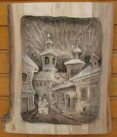 Деревня и город, и монастыри, и купола церквей. Здесь родной русский колорит и наша любовь к России! Однажды мне пришла в голову идея сделать фактурную раму из…