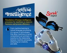 Sprink Digital offers cost-effective artificial intelligence services and solutions that help you systematically manage processes, improve quality, and minimize risks. Natural Language, Intelligence Service, Deep Learning, Data Science, Artificial Intelligence, Big Data, Robotics, Machine Learning, Blockchain