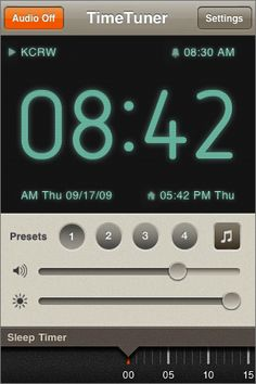 Time Tuner. #interface