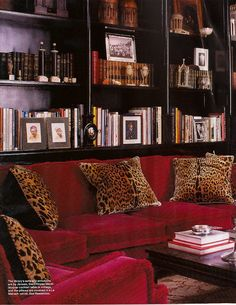Parisian apartment packed with color featured in ELLE DECOR