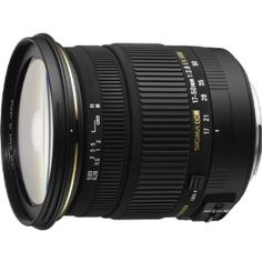 Sigma 17-50mm f/2.8 EX DC OS HSM FLD Large Aperture Standard Zoom Lens for Nikon Digital DSLR Camera by Sigma. $594.00. The Sigma Corporation is pleased to announce the new Sigma 17-50mm F2.8 EX DC OS HSM. This large aperture standard zoom lens is designed for digital SLR cameras and incorporates Sigma's efficient OS function. It is a compact lens with an overall length of just 3.6 inches. This lens covers a focal length from 17mm wide angle and offers a large aperture ...