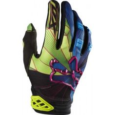 Fox Racing 2014 Dirtpaw Gloves Radeon Green