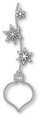 *Pre-Order* Poppy Stamps - Die - Viviro Ornament,$8.99