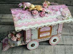 Nice pattern - would make a good gypsy wagon!