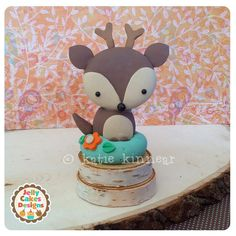 Little Forest Buddies Keepsake Cake Topper Set by jellycakesshoppe