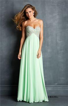 Floor Length Strapless Sweetheart Prom Dress at PromGirl.com ...