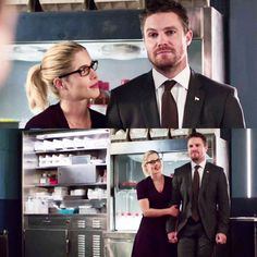 Felicity and Oliver in 6.07