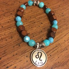 Chocolate and turquoise