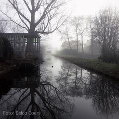 Zoetermeer op een mistige maandagochtend. #Hipstamatic #Lowy #BlankoBL4 Foto: Eelco Coers