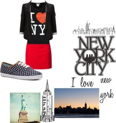"""new york..."" by kovacshelgi ❤ liked on Polyvore"