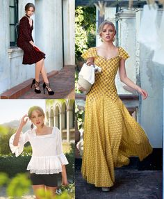Sicilian Morning: 8 New Designs. Need that yellow dress, but possibly in a deep green/blue Burda Patterns, Sewing Patterns, Sewing Ideas, Dress Paterns, Disney Inspired Outfits, Diy Fashion, Fashion Design, Fashion Trends, Top Pattern