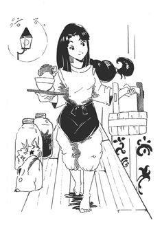 Lin Spirited Away Concept Art