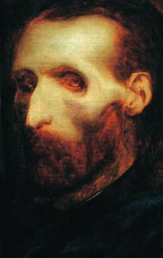 Theodore Gericault's Last Self Portrait as a Dying Man, 1824 - dead man walking....