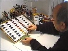 "Beloved English cartoonist, illustrator, and children's author Quentin Blake demonstrates his illustration process step-by-step in this short video, ""Ten Minutes of Illustration,"" filmed in 2003 by the National Gallery Company. Quentin Blake, Drawn Art, Children's Book Illustration, Book Illustrations, Watercolour Tutorials, Zentangle, Art Tips, Art Techniques, Artist At Work"