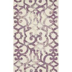 Monochromatic Bold Pattern Rug