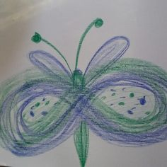 Kinderyoga, een creatieve oefening rond het thema vlinders Drawing Lessons For Kids, Art Drawings For Kids, Easy Drawings, Art For Kids, Kindergarten Art, Preschool Crafts, Symmetry Activities, Circle Drawing, Butterfly Project