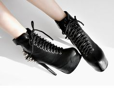 "Fashionable harajuku rivet punk heels Cute Kawaii Harajuku Fashion Clothing & Accessories Website. Sponsorship Review & Affiliate Program opening #best#christmas#gift for you perfect for party so sexy i think use this coupon code ""pinscute"" to get all 10% off shop now for lowest price."