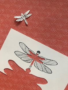 Butterfly Cards, Flower Cards, Card Tags, I Card, Card Making Templates, Bee Cards, Dragonfly Art, Tampons, Card Sketches