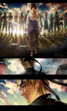 Sasuke and Naruto | Naruto