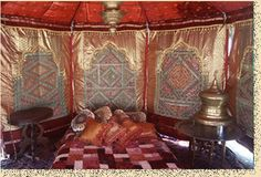 Interior view of the magnificent Dewaan-e-khaas offered by India Tents.