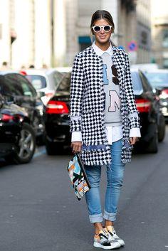 Best Street Style Fashion Week Fall 2015 | POPSUGAR Fashion