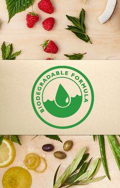 Love Nature család Biológiailag Lebomló Formula (Biodegradale formula)  Ez azt jelenti, hogy olyan összetevőket tartalmaznak, amelyek nem-toxikus anyagok, gyorsan lebomlanak, 28 nap vagy annál kevesebb idő alatt.
