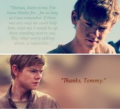 Some of Newt's most memorable quotes from The Scorch Trials