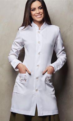 Scrubs Outfit, Scrubs Uniform, Dental Scrubs, Medical Scrubs, Staff Uniforms, Medical Uniforms, Lab Coats, Sleeves Designs For Dresses, Blouse Styles