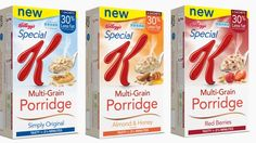 Win a 3 month supply of Kelloggs Special K Multigrain Porridge from Fuss Free Flavours! Special K Diet, Snack Recipes, Cooking Recipes, Cereal Bars, Tea Companies, Cookery Books, Multigrain, Interesting Information