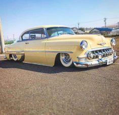 1954 Chevy Bel Air, Chevrolet Bel Air, 66 Impala, Vintage Cars, Antique Cars, Detroit Steel, American Auto, Ride 2, Impalas